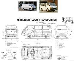 Mitsubishi L300 L300 Pinterest