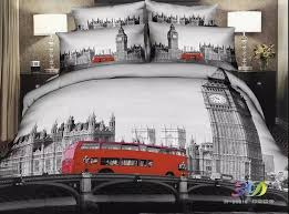 themed duvet cover london themed bedding room decor
