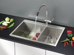 Overstock Kitchen Faucets by Ruvati Rvf1218st Modern Pullout Kitchen Faucet Stainless Steel