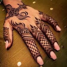 henna design arabic style latest fingers mehndi designs 2018 for hands fashioneven