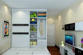 bedroom wardrobe with tv unit ideas modern style cupboards and