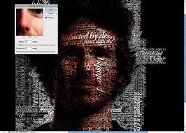 typography portrait tutorial photoshop elements 17 photoshop face typography tutorial images typography portrait