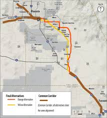 Surprise Arizona Map by Give Us Your Feedback On The Passenger Rail Corridor Study