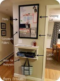 kitchen message center ideas 245 best home entryway drop zone images on home