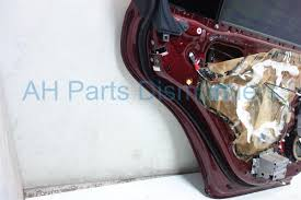 buy 465 2007 lexus es 350 rear driver door burgundy 67004 33180