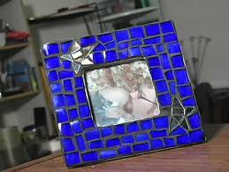 how to make a mosaic picture frame hgtv