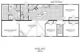 One Floor House Plans Picture Simple Ranch Style Delectable Home Plans With Open Bat