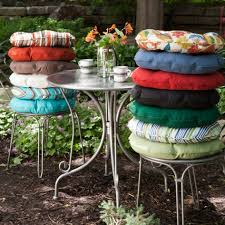 Outdoor Cushions For Patio Furniture Diy Simple Round Outdoor Cushion U2014 Porch And Landscape Ideas