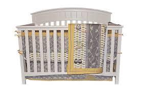 Owls Crib Bedding Dk Leigh Owl 7 Gender Neutral Crib Bedding Set