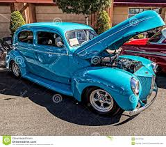 Light Turquoise Paint by 1940 Ford Sedan Editorial Image Image 59191665