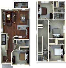 student apartment floorplans the retreat