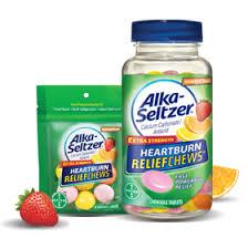 buy alka seltzer heartburn reliefchews antacid chewable tablets