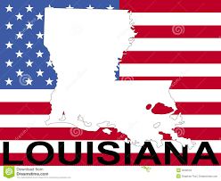 Wisconsin On Map by Map Of Louisiana With Flag Royalty Free Stock Photos Image 3046518