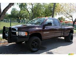 2004 Dodge Ram 3500 Slt Quad Cab 4x4 Dually In Deep Molten Red