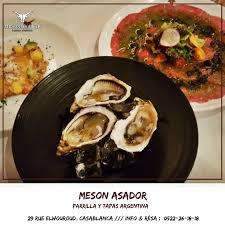 cours de cuisine à casablanca meson asador home casablanca morocco menu prices restaurant