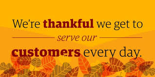 the ups store on happy thanksgiving to all of our