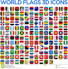 Countries Of The World Flags Flags Of The World Countries Stock Illustration Image 46878757