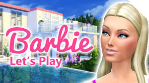 196 Best Barbie Dream House Let U0027s Play The Sims 4 Barbie Pink Life S02e38 Youtube