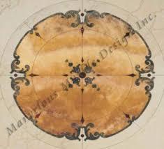 marble floor medallions custom and unique marble floor designs