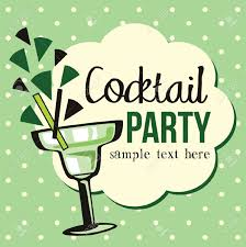 christmas cocktail party invitations retro clipart cocktail party pencil and in color retro clipart