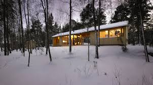 gallery a dogtrot cabin in finland k2s architects small house