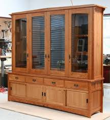 Unfinished Bookcases With Doors Charming Custom Cupboards Cabinets From Unfinished Wood With Wood
