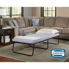 folding bed memory foam mattress roll away guest portable sleeper