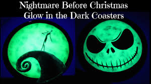 nightmare before christmas glow in the dark coasters another