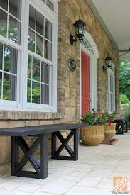 incredible front porch benches outdoor porch pictures for design