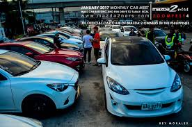 mada car mazda2ners jan 2017 monthly car meet u2013 mass car blessing and fun
