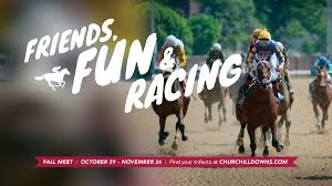 churchill downs on are you ready for the fall meet