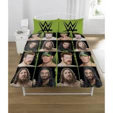 Wwe Duvet Cover Buy Wwe U0027superstars U0027 Rotary Double Bed Duvet Quilt Cover Set From