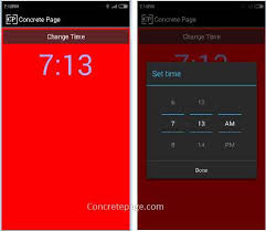 timepicker android android handler dialogfragment and time picker exle with