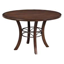 Round Wooden Dining Set Hillsdale Cameron 5 Piece Round Wood Dining Table Set With Parson
