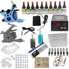buy grinder complete tattoo kit by pirate face tattoo 4 tattoo