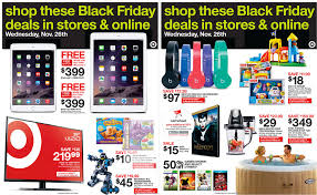 in store target black friday target black friday starts wednesday on select items ipad gift