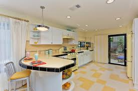 Retro Kitchen Design Ideas by Kitchen Retro Kitchen Flooring Decor Color Ideas Excellent With