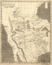 United States Territorial Growth Map by The Louisiana Purchase North Carolina Digital History