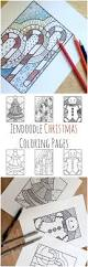 zendoodle christmas coloring pages todaysmama