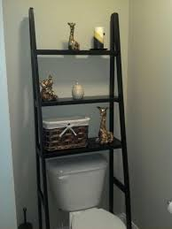 Ladder Shelf For Bathroom Awesome Over The Toilet Storage U0026 Organization Ideas Listing More
