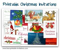 free printable christmas party invitations christmas party