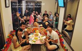 family dinner picture of guesthouse soi kyoto tripadvisor