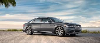 2018 Lincoln Continental Luxury Vehicles Luxury Sedans
