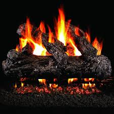 home decor awesome natural gas fireplace logs design decorating