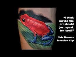 nate beavers interview clip tattoonow tv youtube
