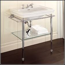 Bathroom Console Console Bathroom Sinks With Chrome Legs Sinks And Faucets Home