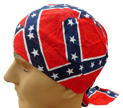 Confederate Flag Rear Window Decal Rebel Confederate Flag Head Wrap Du Rag