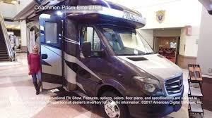 coachmen class c motorhome floor plans coachmen prism elite 24ef youtube