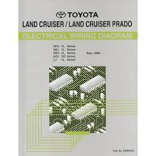 2002 toyota landcruiser prado electrical wiring diagram workshop