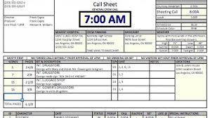 callsheet glossary of film video u0026 photo aka crew list